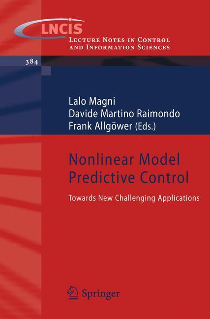 Cover of 'Nonlinear Model Predictive Control'