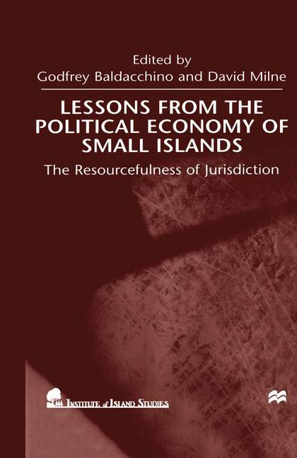 Cover of 'Lessons From the Political Economy of Small Islands'