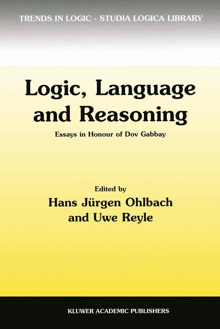 Cover of 'Logic, Language and Reasoning'