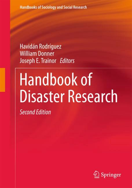 Cover of 'Handbook of Disaster Research'