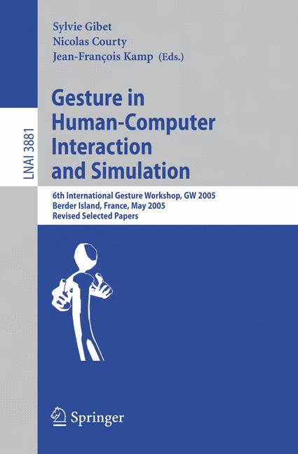 Cover of 'Gesture in Human-Computer Interaction and Simulation'