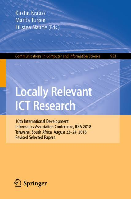 Cover of 'Locally Relevant ICT Research'