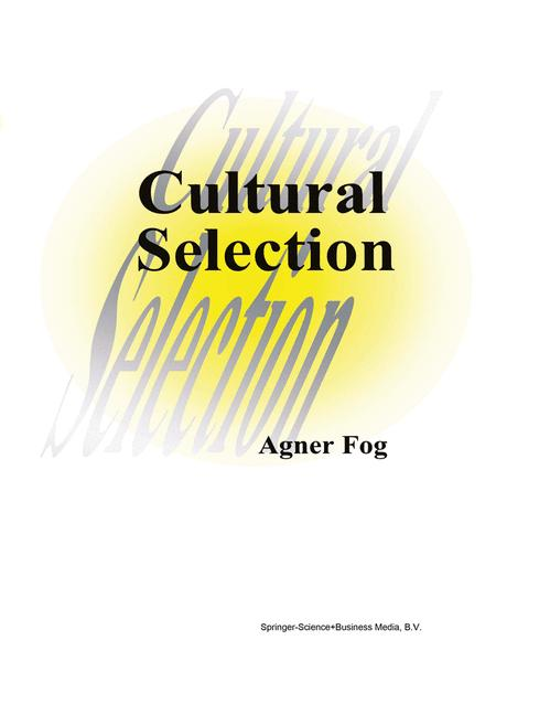 Cover of 'Cultural Selection'