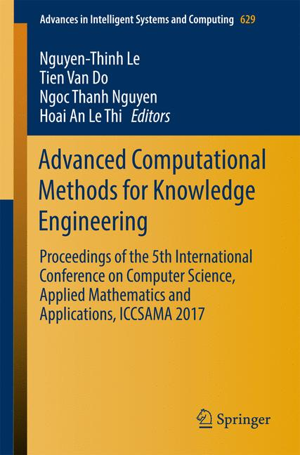 Cover of 'Advanced Computational Methods for Knowledge Engineering'