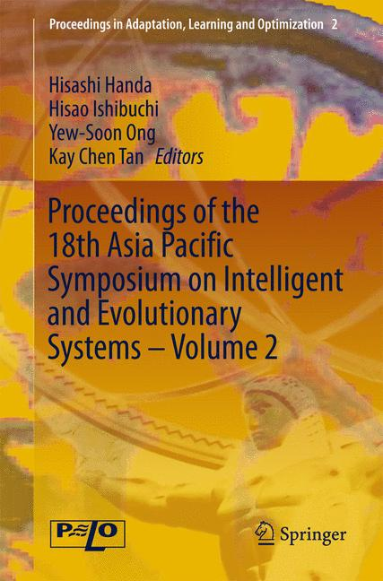 Cover of 'Proceedings of the 18th Asia Pacific Symposium on Intelligent and Evolutionary Systems - Volume 2'