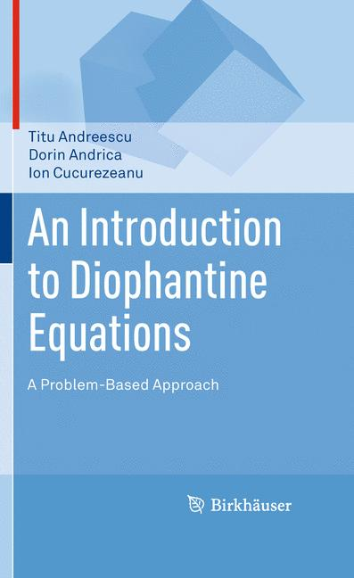 Cover of 'An Introduction to Diophantine Equations'