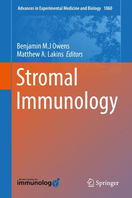 Cover of 'Stromal Immunology'