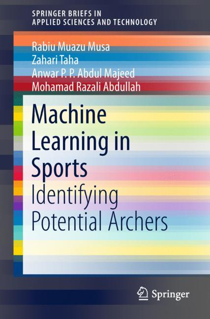 Cover of 'Machine Learning in Sports'