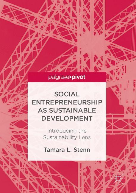 Cover of 'Social Entrepreneurship as Sustainable Development'