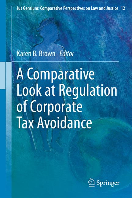 Cover of 'A Comparative Look at Regulation of Corporate Tax Avoidance'