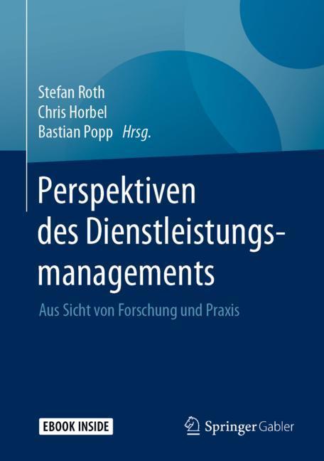 Cover of 'Perspektiven des Dienstleistungsmanagements'
