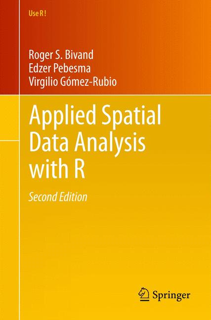 Cover of 'Applied Spatial Data Analysis with R'