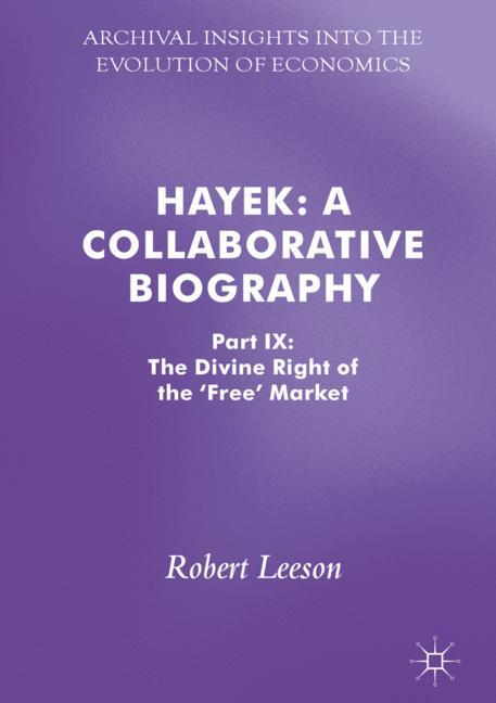 Cover of 'Hayek: A Collaborative Biography'