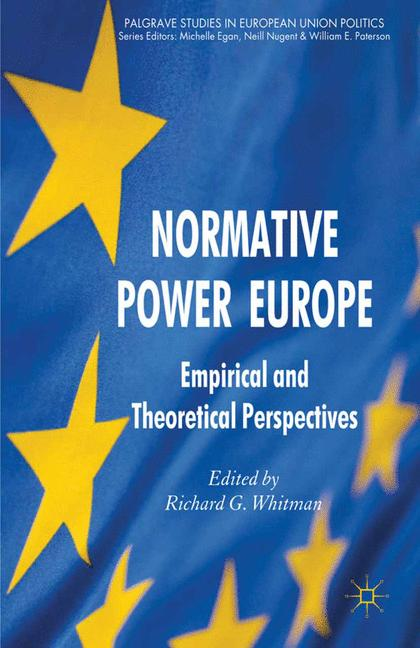 Cover of 'Normative Power Europe'