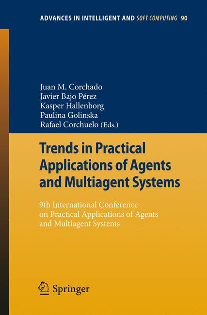 Cover of 'Trends in Practical Applications of Agents and Multiagent Systems'