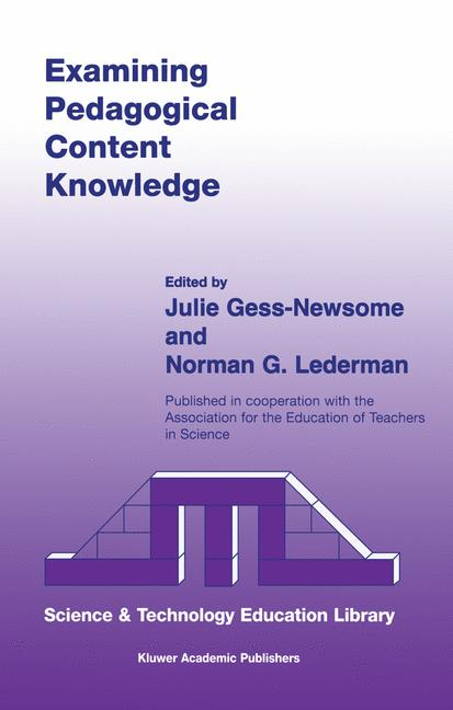 Cover of 'Examining Pedagogical Content Knowledge'