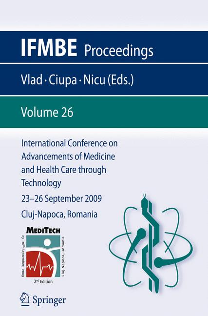 Cover of 'International Conference on Advancements of Medicine and Health Care through Technology'