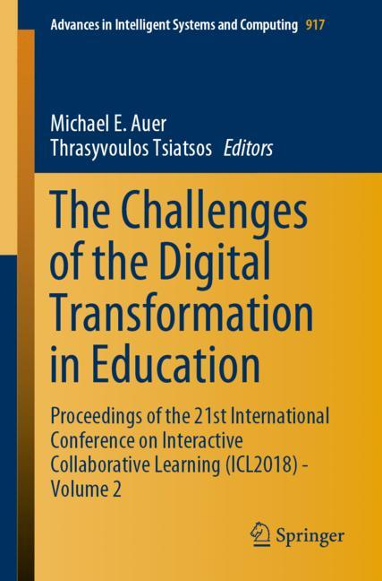 Cover of 'The Challenges of the Digital Transformation in Education'