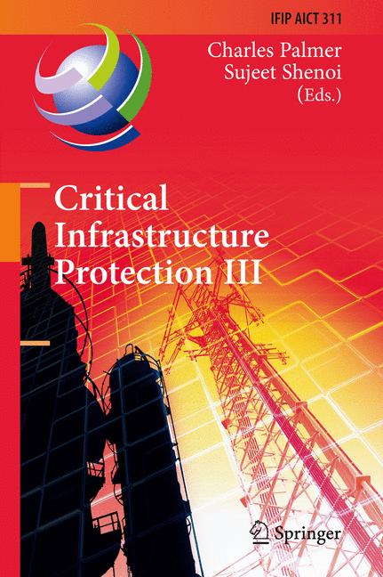 Cover of 'Critical Infrastructure Protection III'