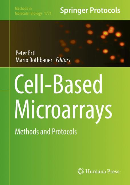 Cover of 'Cell-Based Microarrays'