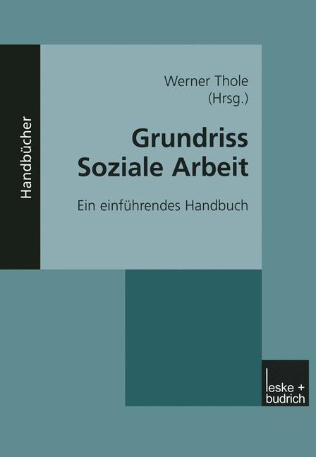Cover of 'Grundriss Soziale Arbeit'
