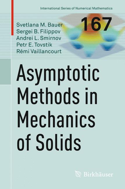 Cover of 'Asymptotic methods in mechanics of solids'