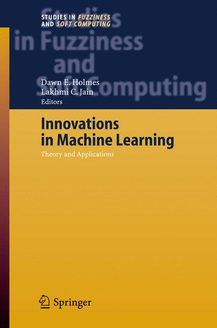 Cover of 'Innovations in Machine Learning'