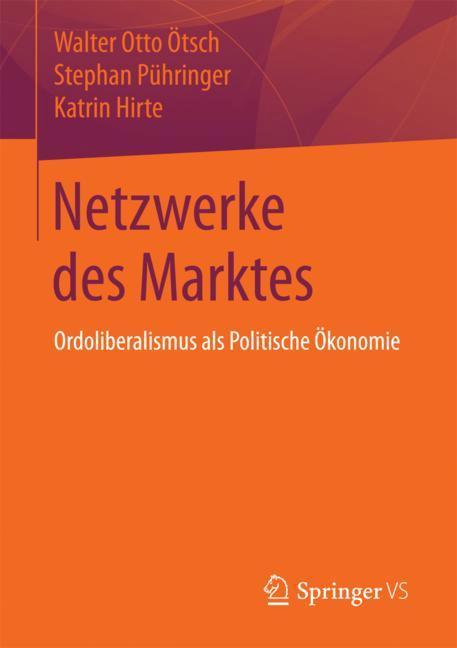 Cover of 'Netzwerke des Marktes'