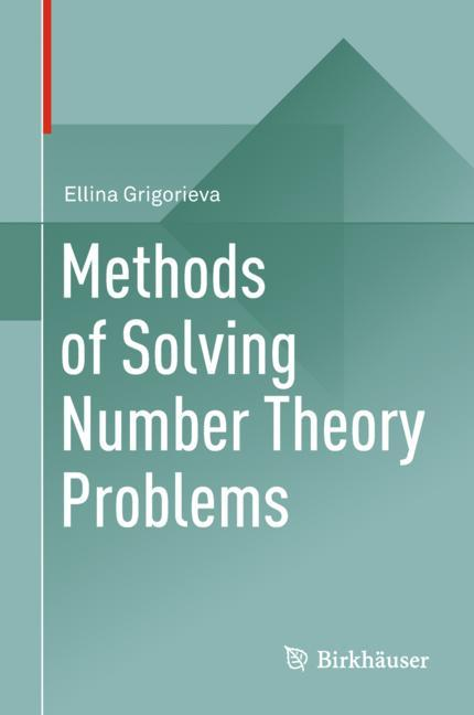 Cover of 'Methods of Solving Number Theory Problems'