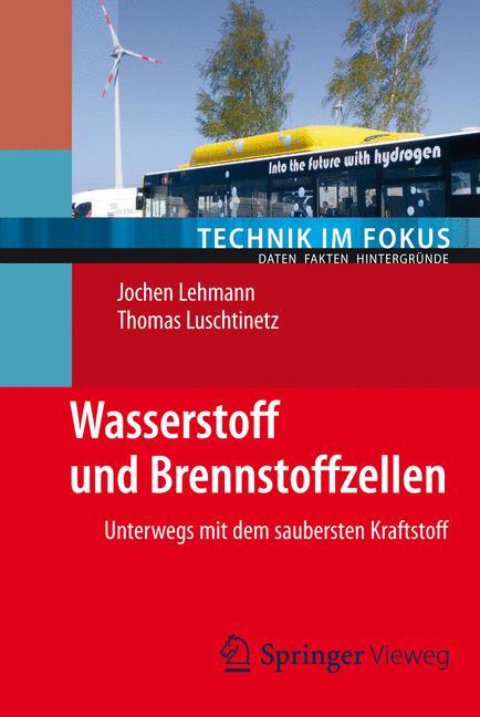 Cover of 'Wasserstoff und Brennstoffzellen'