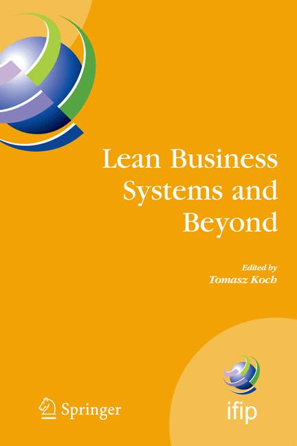 Cover of 'Lean Business Systems and Beyond'