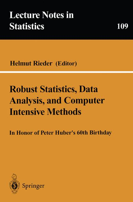 Cover of 'Robust Statistics, Data Analysis, and Computer Intensive Methods'