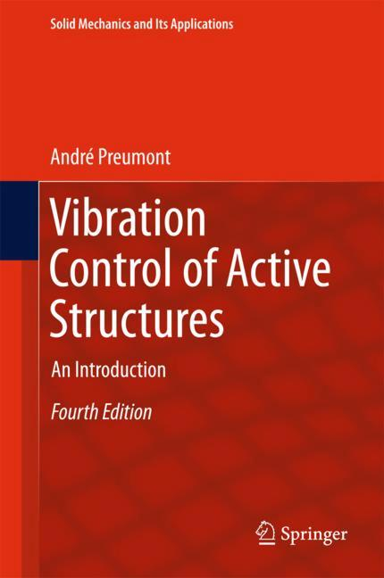 Cover of 'Vibration Control of Active Structures'