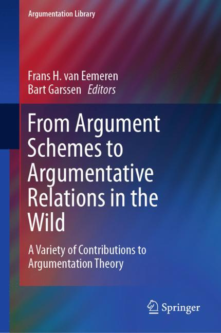 Cover of 'From Argument Schemes to Argumentative Relations in the Wild'