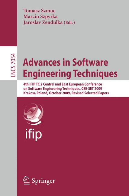 Cover of 'Advances in Software Engineering Techniques'