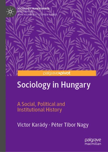 Cover of 'Sociology in Hungary'