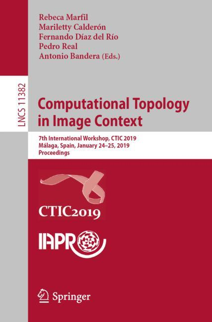Cover of 'Computational Topology in Image Context'
