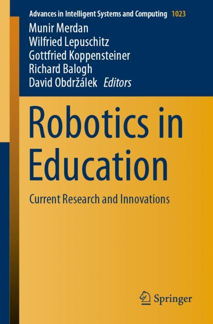 Cover of 'Robotics in Education'