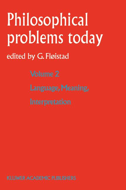 Cover of 'Language, Meaning, Interpretation'