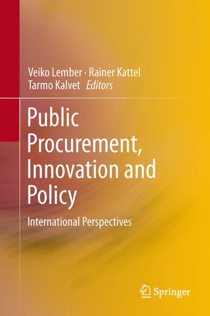 Cover of 'Public Procurement, Innovation and Policy'