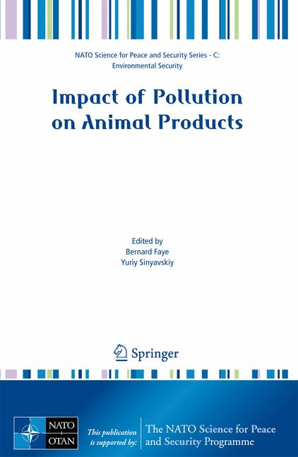 Cover of 'Impact of Pollution on Animal Products'