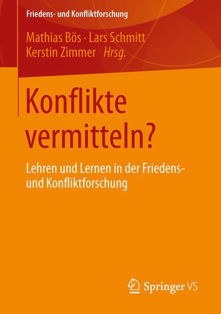 Cover of 'Konflikte vermitteln?'