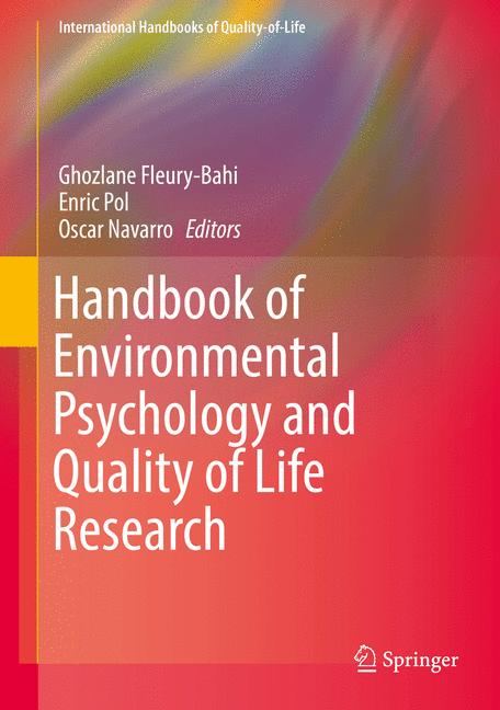 Cover of 'Handbook of Environmental Psychology and Quality of Life Research'