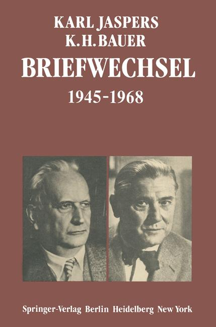 Cover of 'Briefwechsel 1945-1968'
