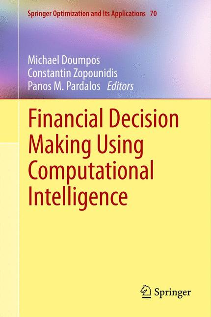 Cover of 'Financial Decision Making Using Computational Intelligence'