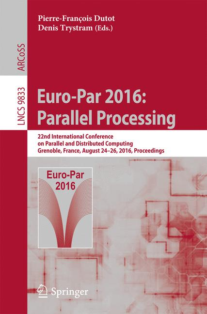 Cover of 'Euro-Par 2016: Parallel Processing'