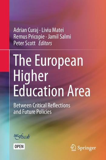 Cover of 'The European Higher Education Area'