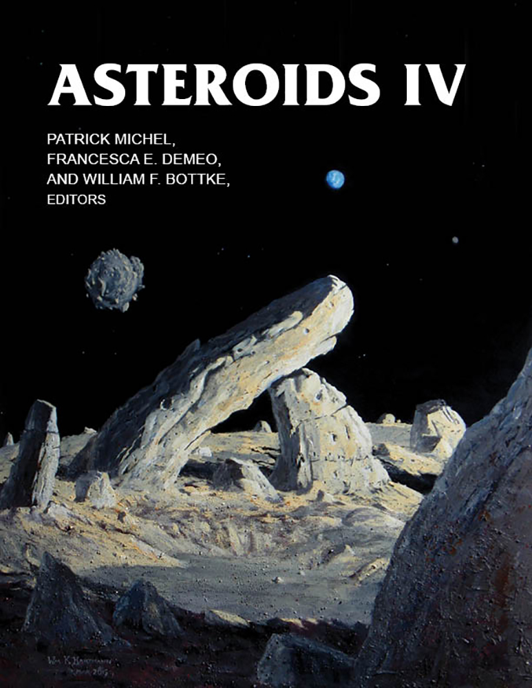 Cover of 'Asteroids IV'