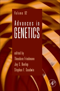 Cover of 'Advances in Genetics, 1st Edition'