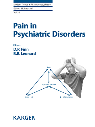 Cover of 'Pain in Psychiatric Disorders'